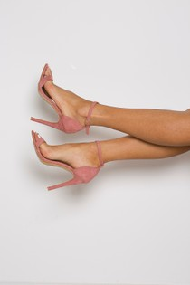 Kandy Barely There Sandal in Pink
