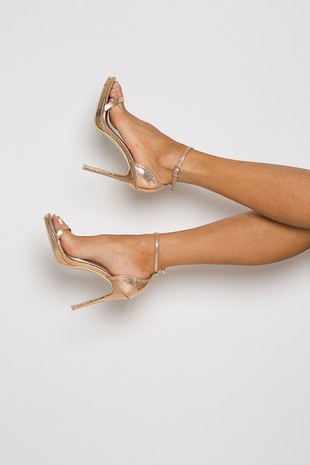 Milan Heel in Rosegold