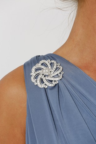 Diana Diamante Brooch