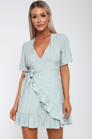 Keva Dress in Green