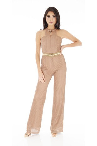 Lexx Jumpsuit in Nude