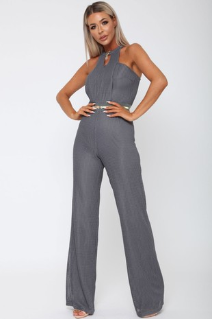 Lexx Jumpsuit in Grey