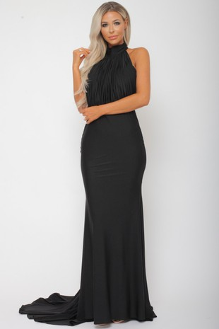 Suzanne Halter Gown in Black