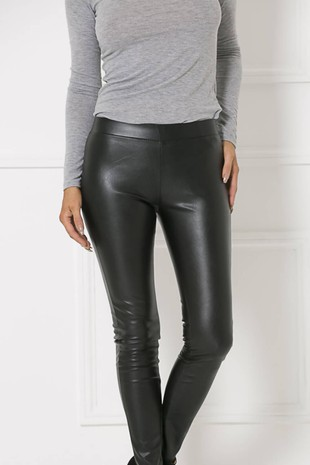 Tina Leather Look Leggings