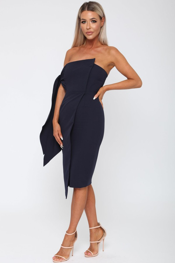 Bailey Dress in Navy