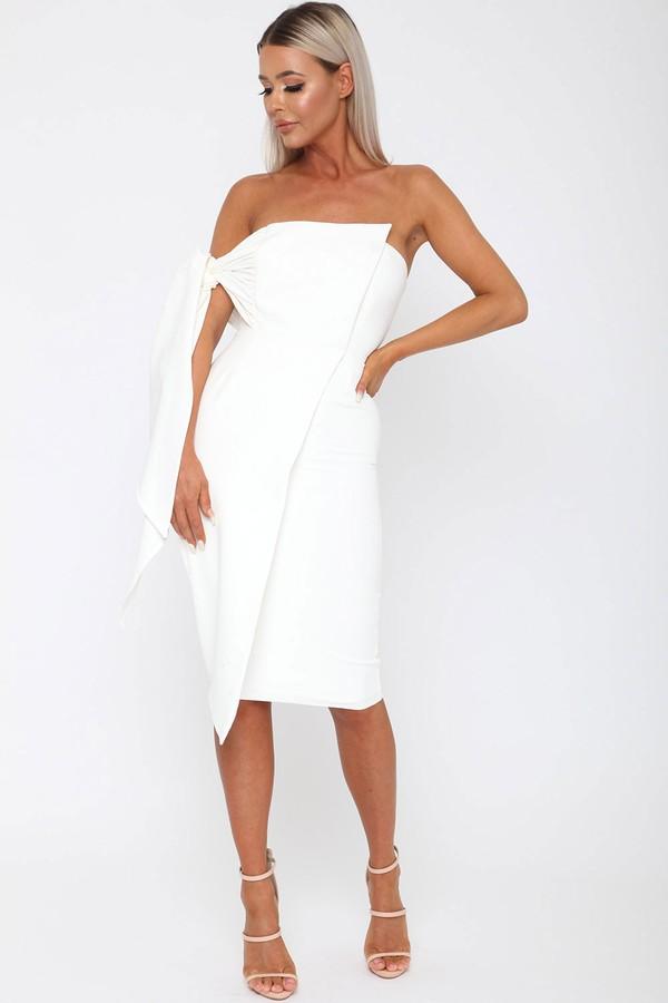 Bailey Dress in Ivory