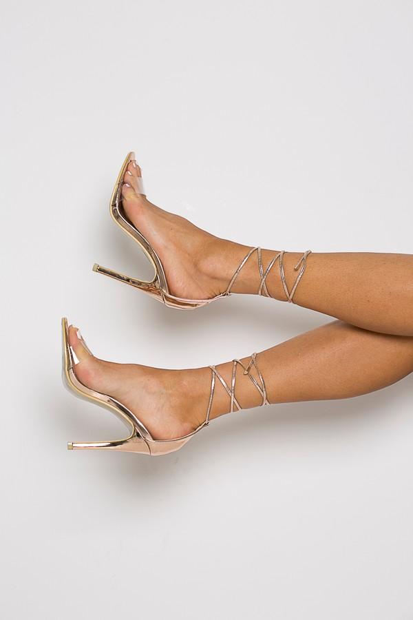 Miami Sandal in Rosegold