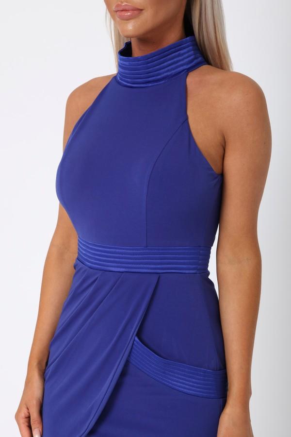Morgan Short Dress in Blue