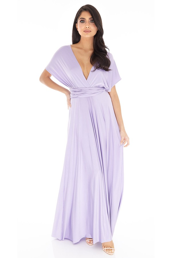 Multiway Dress in Lilac #89