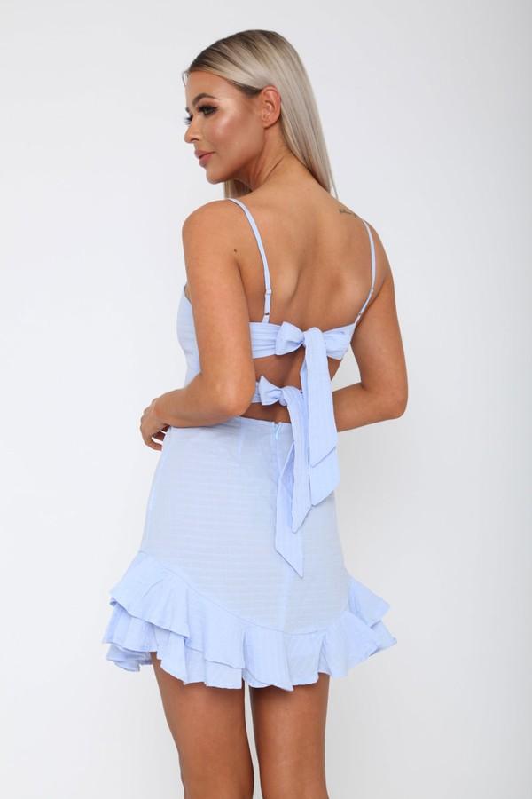 Preya Dress in Blue