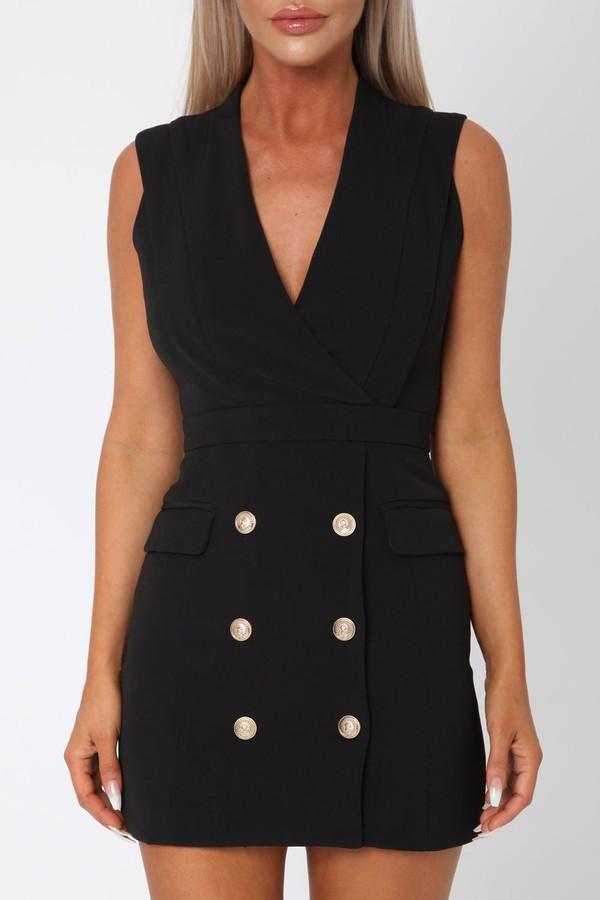 Cara Dress in Black