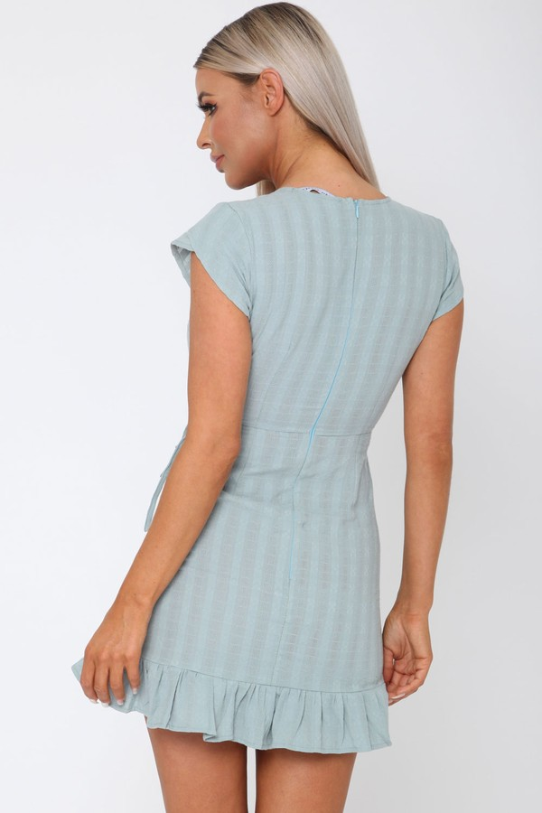 Daisy Duke Dress in Teal