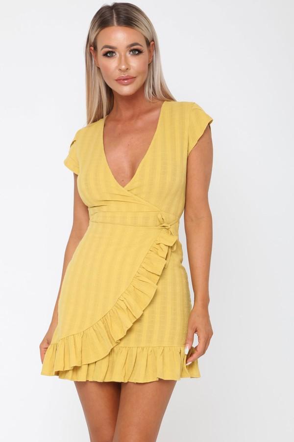 Daisy Duke Dress in Yellow
