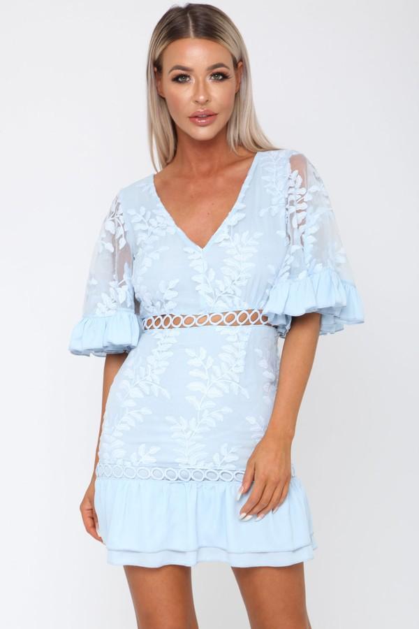 Molly Dress in Blue